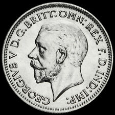 More details for 1934 george v silver sixpence, scarce