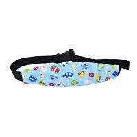 Safety Kids Stroller Car Seat Sleep Nap Aid Head Fasten Support Holder Belt TK