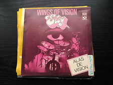 SINGLE PROMO ELOY - WINGS OF VISION (ALAS DE VISION) - EMI SPAIN 1980 VG+/NM