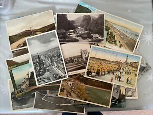 Job Lot Of 30 Postcards Various Locations (00)