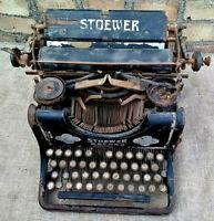 Schreibmaschine Stoewer Antik Vintage Selten