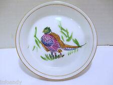 Vintage LJ Japan Hand Painted Ring Necked Pheasant Porcelain Trinket Dish, X1571