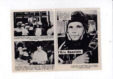 flyer fronte/retro ERA SPAZIALE 1961 Yury Gagarin