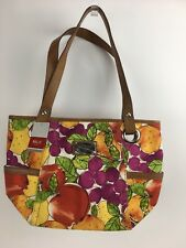 New Relic Tote Handbag Medium Fruit Double Strap Canvas Shoulder Bag RLH8124843
