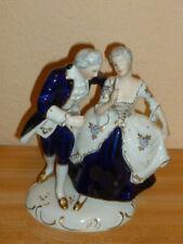 Royal Dux Porzellanfigur Rokoko Viktorianisches t Paar  H ca. 22 cm B ca. 18 cm