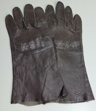 Usn Gloves Flying Leather Summer Type B-3A Mil G-9087A Size 8 Brown