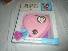 VINTAGE NEW IN BOX MY SWEET HEART SAFE LITTLE GIRL PINK HEART SAFE
