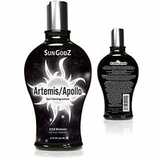 Apollo Artemis 375X Bronzer Tanning Lotion - Shower Proof & Hydrates Skin 12oz