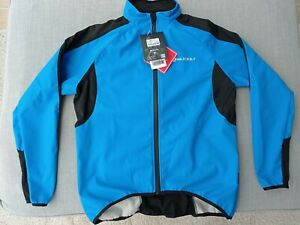 Size S cycling jacket plus free base layer, unwanted gift due to Asian sizing.