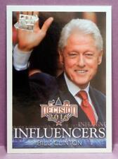 DECISION 2016 TRADING CARDS BILL CLINTON SILVER FOIL POLITICON PROMO #P10