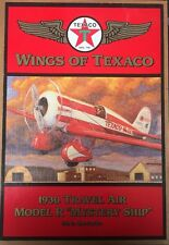 "Ertl Wings of Texaco 1930 Travel Air Model R "" Mystery Ship"" Plane 5th"
