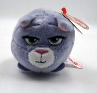 "3.2"" Teeny Beanie Boos Ty Plush Doll Stuffed Toy Soft Animal Ornament Purple H"