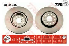 TRW BRAKE DISC (SINGLE) - DF4464S |Next working day to UK