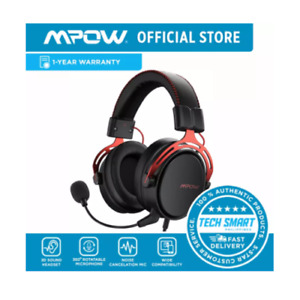 Mpow Air SE PS4 Headset with 3D Sound, Detachable Noise-Cancellation Mic