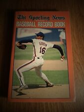 1985 THE SPORTING NEWS BASEBALL RECORD BOOK DWIGHT GOODEN NEW YORK METS