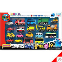Tayo Little Bus Special Friends 19 pcs Mini Car Full Set-2nd Edition Police Tayo