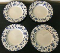 "(4) Royal Stafford SPRING GARDEN 8 1/2"" Salad Plates"