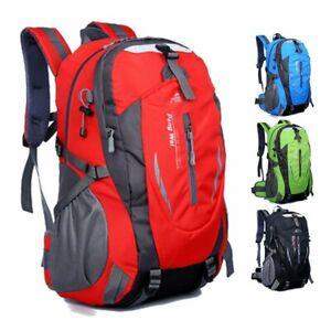 40L Large Hiking Camping Bag Travel Waterproof Backpack Outdoor Luggage Rucksack