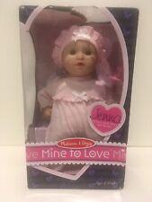 Melissa & Doug Mine To Love Jenna Soft Body 12-Inch Baby Doll NEW