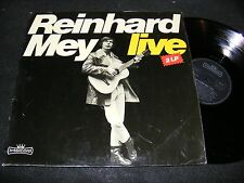 REINHARD MEY Live 2 LP INTERCORD Gatefold Made In Germany 1971 GERMAN Vocalist