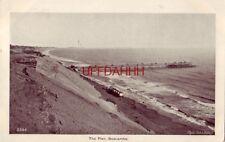 pre-1907 The Pier, Boscombe a few beach huts in view