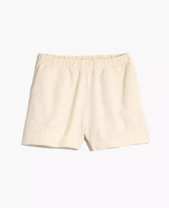 Madewell $50 Knit High-Rise Pleated Shorts Size XS MD085