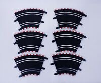 """SCX Compact """"45 Degree Standard Curve"""" Track 1/43 Scale (Set of 6) SC-01.011"""