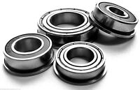 STAINLESS STEEL FLANGED MINIATURE BEARINGS ALL SIZES AVAILABLE - UK SELLER