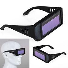 Auto Darkening Welding Mask Helmet Solar Powered Eyes Goggle Welder Glasses Arc