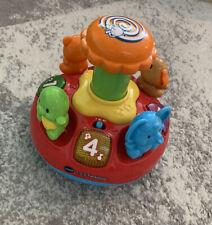 """!""""!""""! V-Tech 1-2-3 Tierkreisel Spielzeug Musik"""