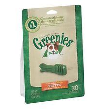 4   X  18 oz.bags GREENIES Dog Treats Petite sz. 120 Treats Total!!