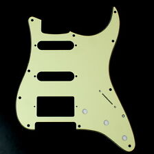 Relacment Guitar Pickguard For Strat HSS Layout Style ,3Ply Mint Green