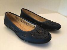 Womens Blue Sag Harbor Slip On Shoes Size 8