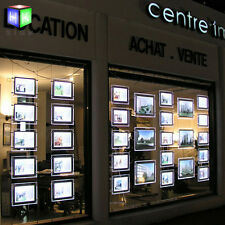 ceiling hanging Advertising picture frame Display for real estate window sign
