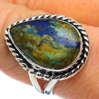 Azurite 925 Sterling Silver Ring Size 9.5 Ana Co Jewelry R44372F