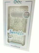 CaseMate Twinkle Glitter Silver Case For Samsung Galaxy S10 Stardust Clear