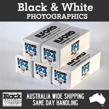 New Ilford FP4 Plus 120 (5 Pack) - Australian Stock