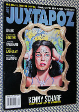 JUXTAPOZ Magazine, KENNY SCHARF, Howard Finster, Jimmie Vaughan