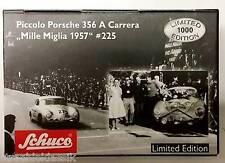 SCHUCO PICCOLO PORSCHE CARRERA 356 RALLYE MILLE MIGLIA WINNER STRÄHLE LINGE #225