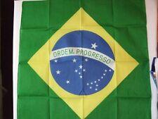 NUOVO Brasile BANDIERA BANDANA Du-Rag sciarpa copritesta