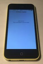 Apple iphone 5C Lte 4G A1507 2 band 4G Lte 7 and 20 yellow 8GB unlocked