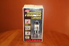 Coleman 295-700 2 Mantle Powerhouse Unleaded Fuel Lantern Box Funnel 11 89 Works