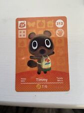 Timmy Amiibo Card Animal Crossing for Nintendo Switch, Wii U and 3DS