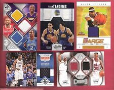 LEBRON JAMES KOBE BRYANT STEPHEN CURRY KEVIN DURANT JERSEY CARD PIPPEN IVERSON