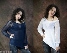 Markenlose Damen-Pullover & -Strickware aus Wolle in Größe 40