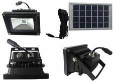 Faro LED energia solare.Accensione automatica crepuscolare.Faretto con pannello