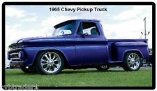 1965 Chevy Pickup Truck Refrigerator / Tool Box  Magnet