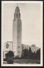 REAL PHOTO Postcard SEATTLE Washington/WA  St Joseph's Church view 1940's?