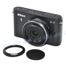 METAL LENS HOOD AS NIKON 1 HN-N101 + CAP FITS HC-N101 FOR NIKKOR 10mm f/2.8