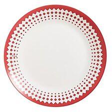 Arcopal vajilla de adonie 18pc-puntos rojos - 6 X Cena, sopa & Postre